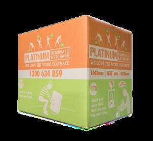 Platinum cardboard box