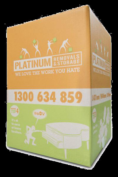Platinum Removals box
